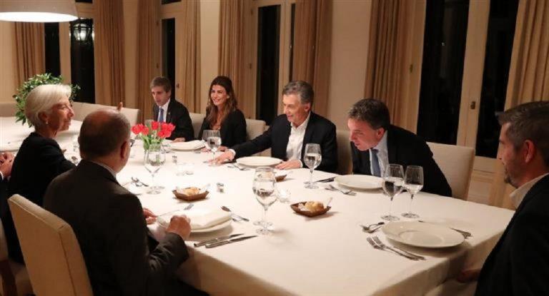 Lagarde en Argentina: el FMI analiza reabrir oficinas en Buenos Aires