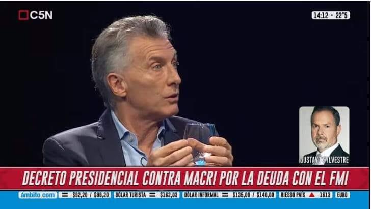 Querella penal contra Macri por el préstamo que le pidió al FMI