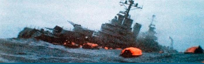 2 de mayo de 1982 – Hundimiento del crucero General Belgrano
