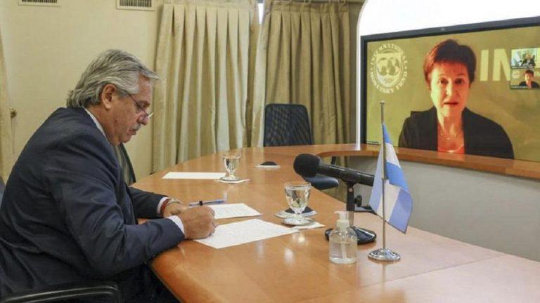 Alberto Fernández se reunirá este viernes en Roma con la titular del FMI